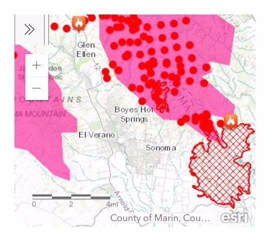 Sonoma Hotspots