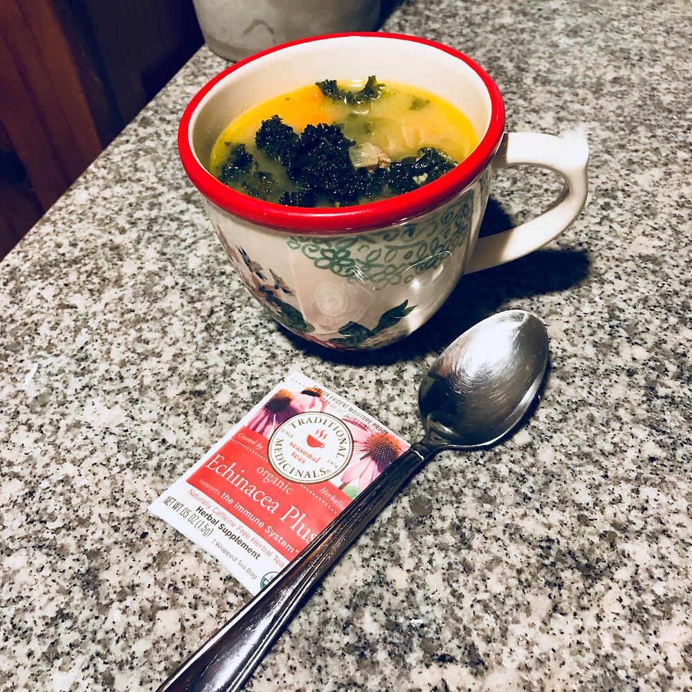Tea + Soup = Self Care