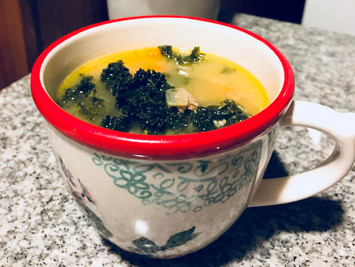 Recipe Alert: Sick Day Turkey and Kale Soup!