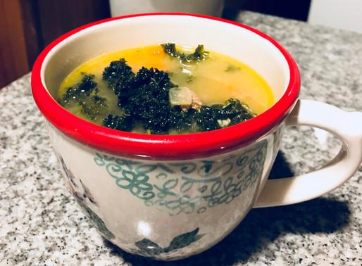 Recipe Alert: Sick Day Turkey and Kale Soup!