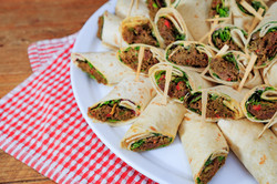 Shredded Beef Wrap