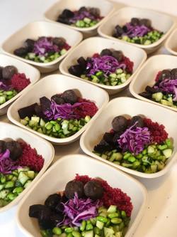 Vegan Falafel Salad
