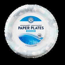 Designer Paper Plates (45 count)