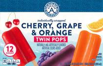 Cherry, Grape & Orange Twin Pops