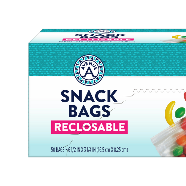 Reclosable Snack Bags