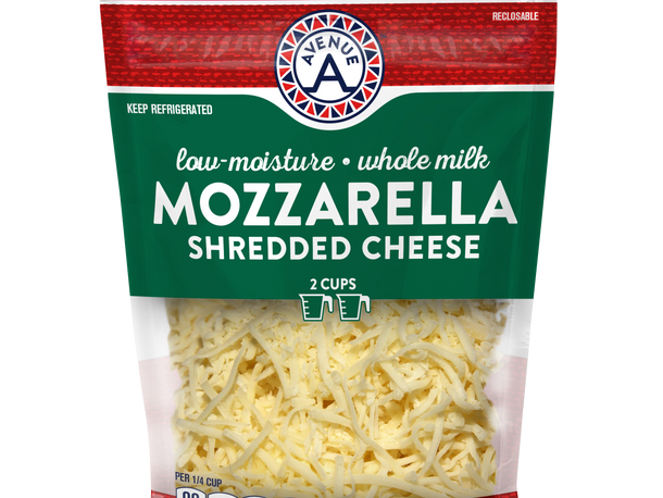 Shredded Low Moisture Whole Milk Cheese