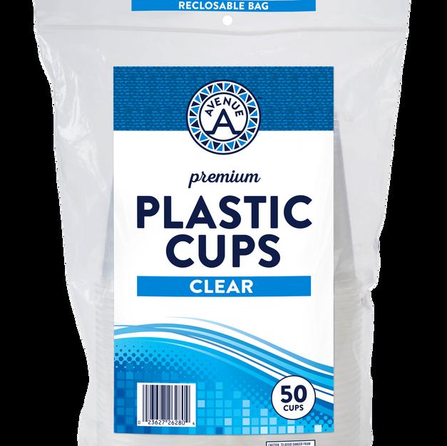 Plastic Cups (50 count)