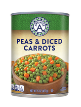 Peas & Diced Carrots
