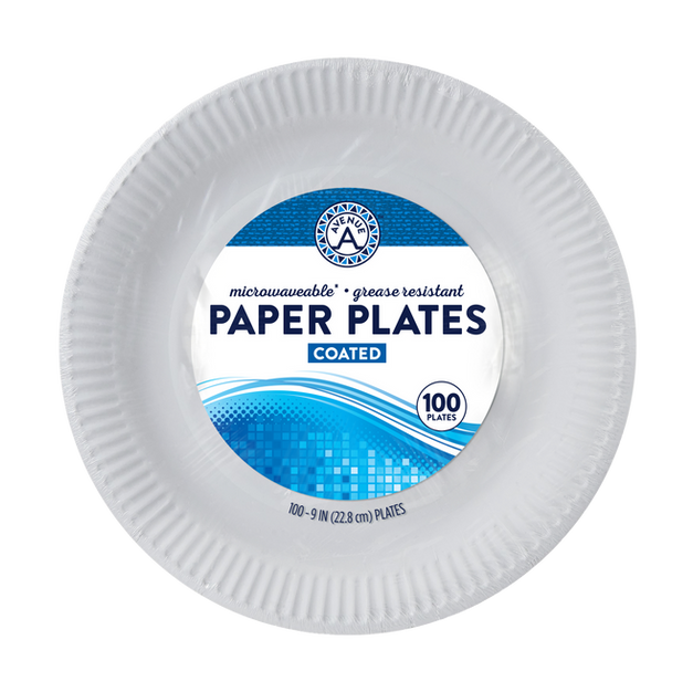 Coated Paper Plates