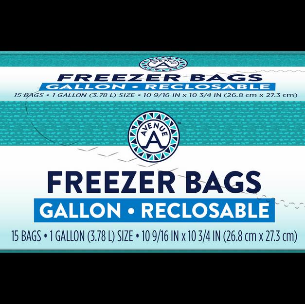 Reclosable Freezer Bags