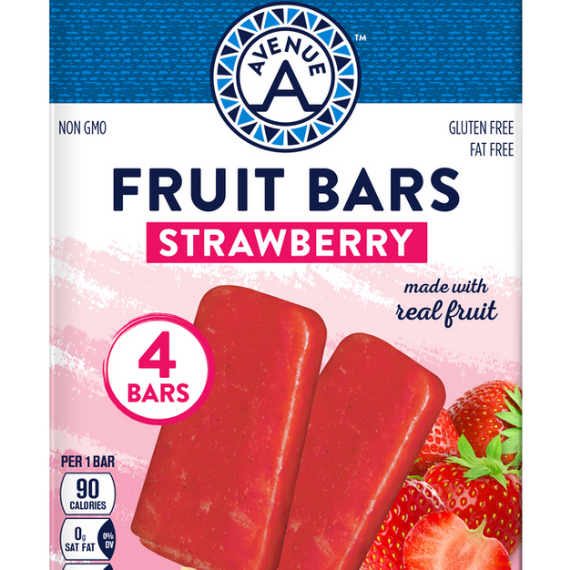 Strawberry Fruit Bars