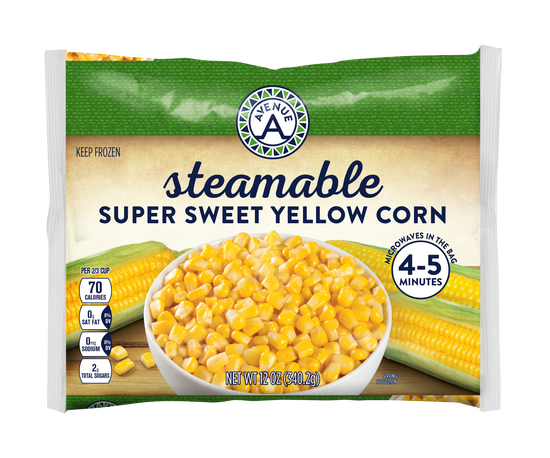 Steamable Super Sweet Yellow Corn