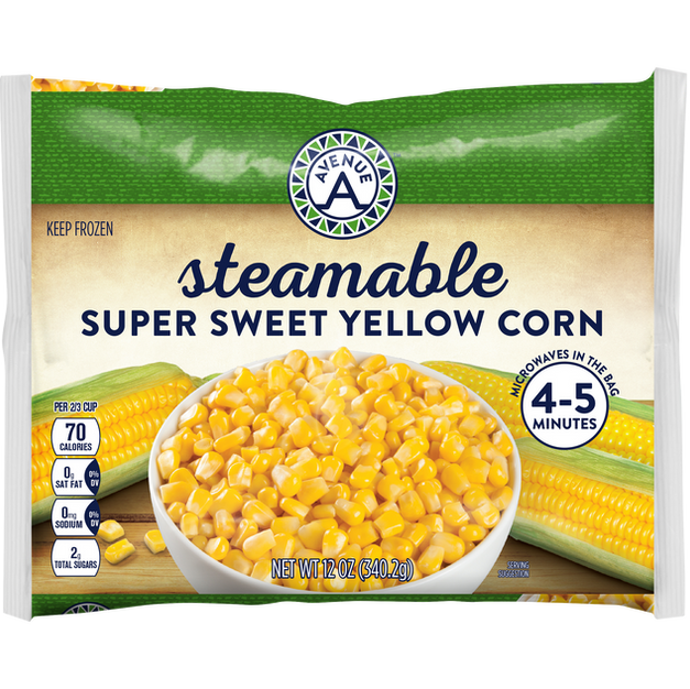 Steamable Super Sweet Yellow Corn