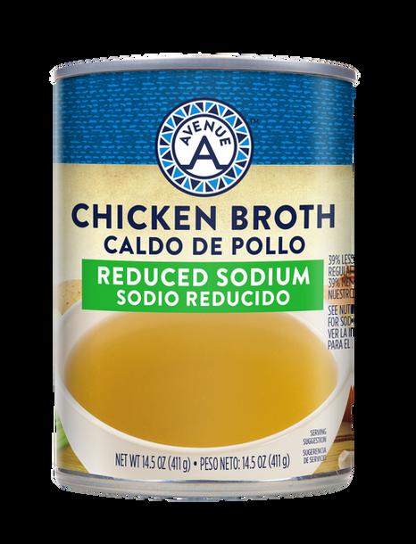 Reduced Sodium Chicken Broth