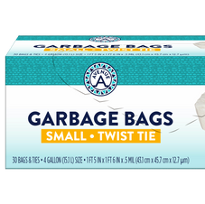 Garbage Bags Small Twist Tie
