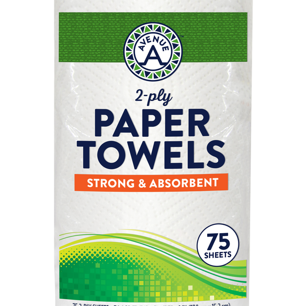 Paper Towels (75 sheets)