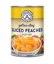 Yellow Cling Peach Slices 15.25oz
