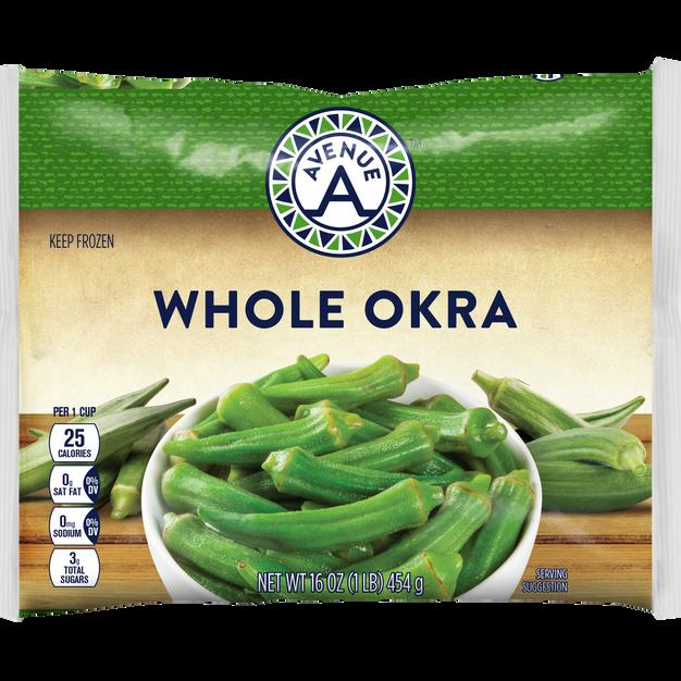 Whole Okra