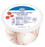 Strawberry Swirl Ice Cream 1GAL