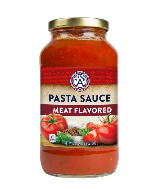 Meat Flavored Pasta Sauce