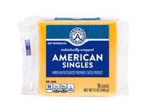 Individually Wrapped American Cheese Singles