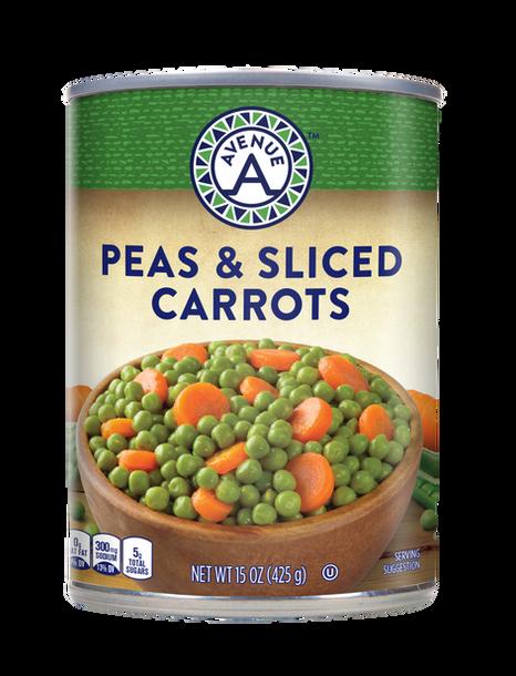 Peas & Sliced Carrots