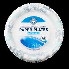 Designer Paper Plates (24 count)