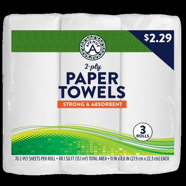 Paper Towel (3 rolls)