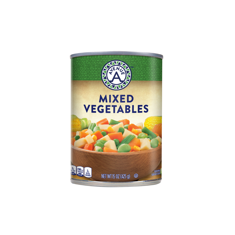 Mixed Vegetables - Avenue A