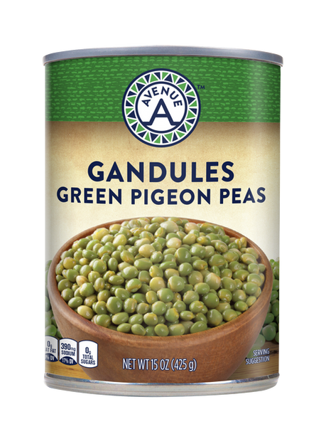 Gandules Green Pigeon Peas
