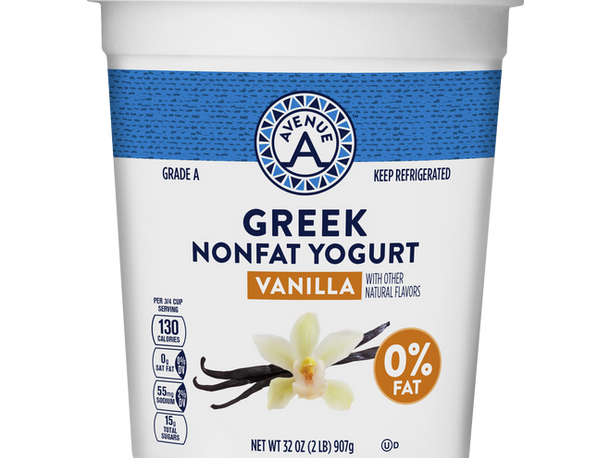 Non-Fat Vanilla Greek Yogurt