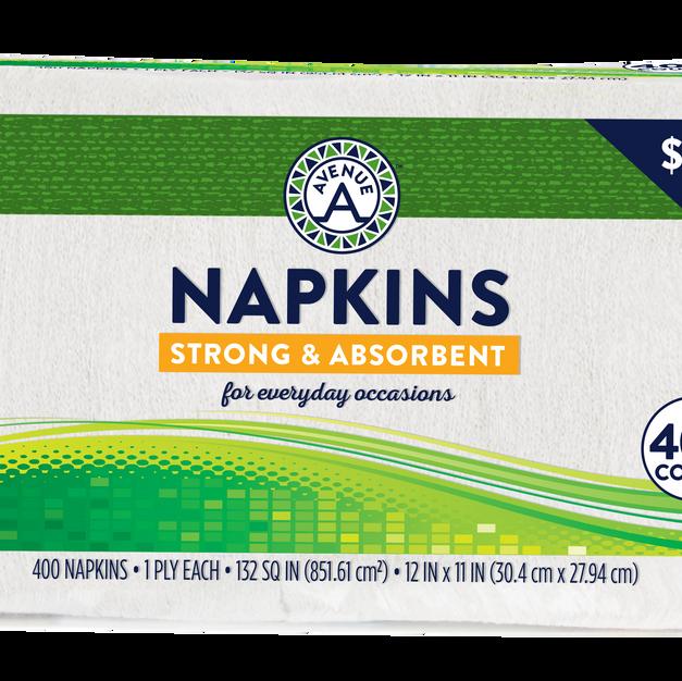 Napkins (400 count)
