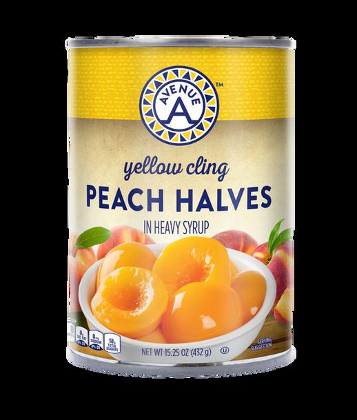 Yellow Cling Peach Halves 15.25oz.