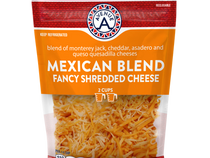 Shredded 4 Cheese Mexican Blend