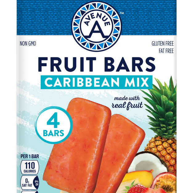 Caribbean Mix Fruit Bars