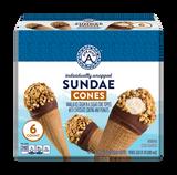 Round Top Ice Cream Cones