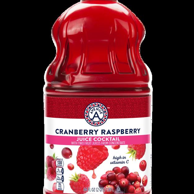 Cranberry Raspberry Juice Cocktail