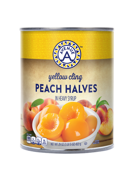 Yellow Cling Peach Halves 29oz