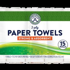 Paper Towels (15 Roll Bundle)