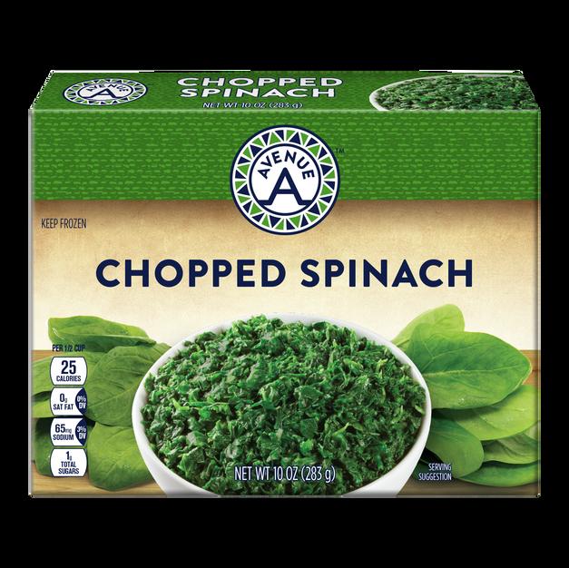 Chopped Spinach 10 oz.