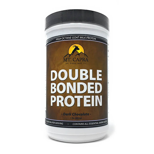 Goat Milk Doubled Bonded Protein 1lb