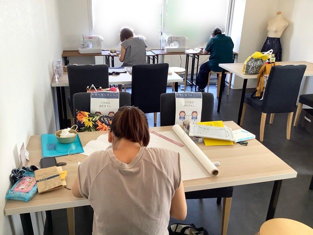 東京都港区洋裁教室裁縫教室