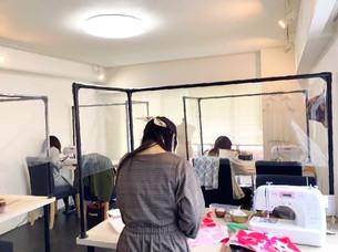東京都港区洋裁教室ミシン裁縫教室手芸教室ソーイングビー習い事初心者習う