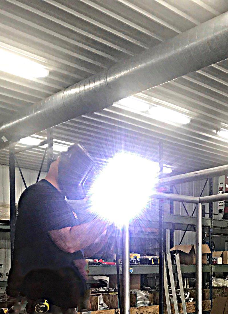 Skeeter welding