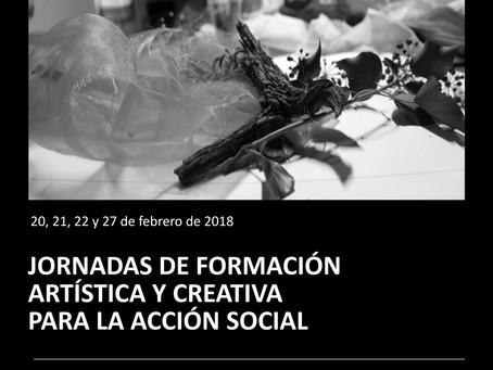 Jornadas de formación artística y creativa para la acción social.