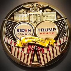 CNN Election Challenge Coin