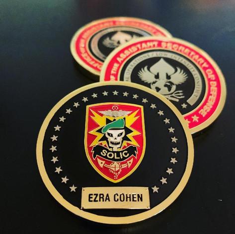 Ezra Cohen Challenge Coin