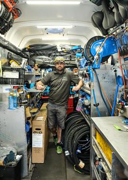 La shop à vélo mobile, Qc