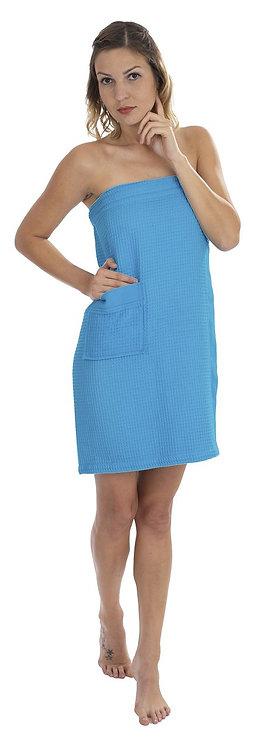 Damen Sauna-Kilt mit Tasche auch in Übergröße