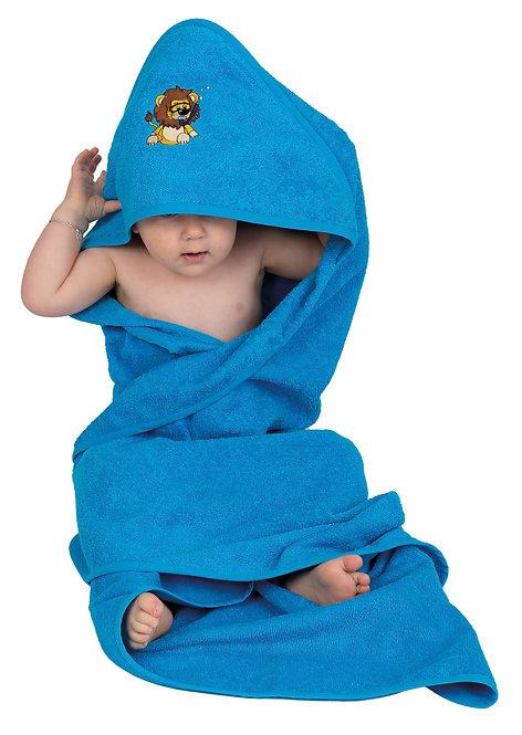 Kinder Badetuch mit Kapuze   extragross